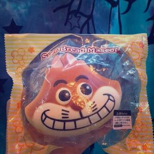 soft bread mascot squishy (Cheshire cat )